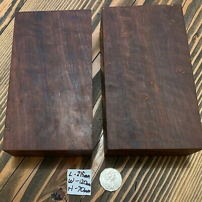 X2 River Red Gum, Wood turning blank, bowl, Pen, knife Blank L/215 W/120 H/70