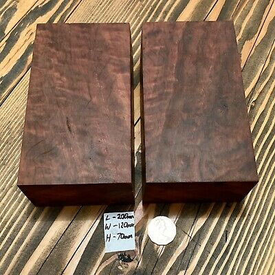 X2 River Red Gum, Wood turning blank, bowl, Pen, knife Blank L/200 W/120 H/70