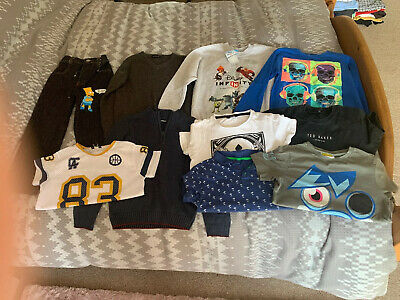 Excellent Condition, Boys Clothes Bundle In A 7-8 Years, E4