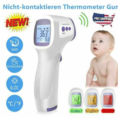 IR Infrared Digital Termometer Non-Contact Forehead Baby&Adult Body Thermometer