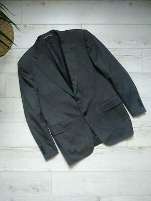 Canali Stretch Men's Formal Blazer Suit Jacket Two Button Size 50R