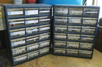 "2 Parts Drawers with John-Guest/JG-style push fittings over 600 pcs 1/4"" & 3/8"""