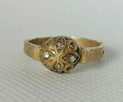 Rare Extremely Ancient Old Roman Ring Bronze Authentic Beautiful Amazing