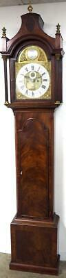 Superb Antique 8Day Grandfather Clock English Mahogany Striking Longcase C1776