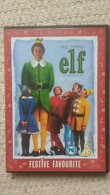 Elf DVD (2 Disc set) Will Ferrell James Caan Peter Dinklage CHRISTMAS COMEDY