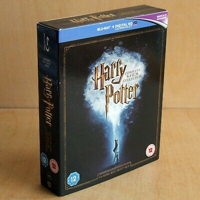 Harry Potter - Complete 8-film Collection (16-Disc Blu-ray Set 2016 UK Ireland)