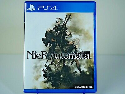 Nier: Automata Sony PlayStation 4 PS4 Reversible Cover Art