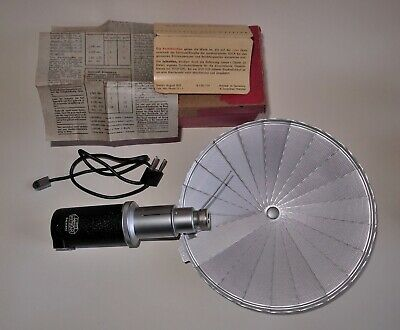 Leica Leitz Ceyoo Flash Unit Complete In Box.vgc.collectible With History