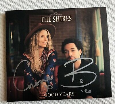 The Shires - Good Years Autographed Cd Album Hand Signed