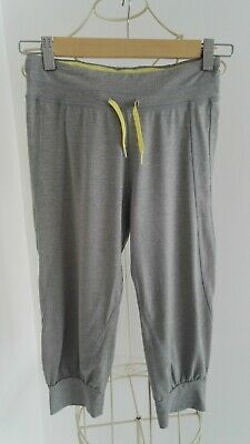 Girls age 9-10 years gray sports pants/shorts by H&M hardly worn!