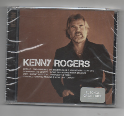 Kenny Rogers Greatest Hits 2013 CD Lucille, Gambler, Lady, She Believes in me