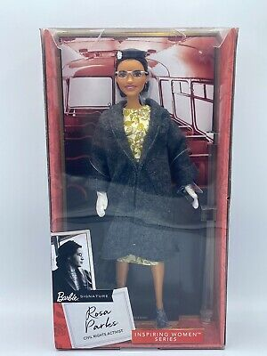 NEW Barbie ROSA PARKS Doll NEW. Inspiring women collection