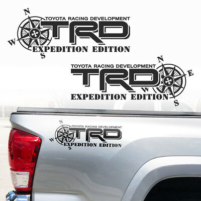 TRD Expedition Toyota Tacoma Tundra Vinyl Decals Stickers jll