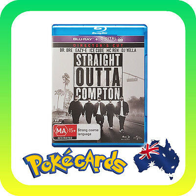 Straight Outta Compton (Blu-ray, 2016) - FREE POSTAGE!