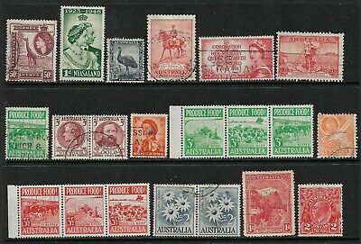 BRITISH COMMONWEALTH Interesting Early Mint and Used Issues Selection (Mar 302)
