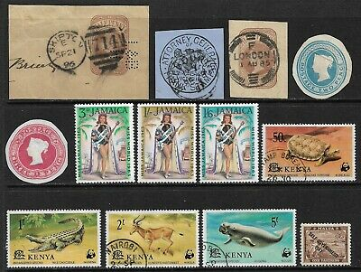 BRITISH COMMONWEALTH Very Nice Early Mint and Used Issues Selection (Mar 307)