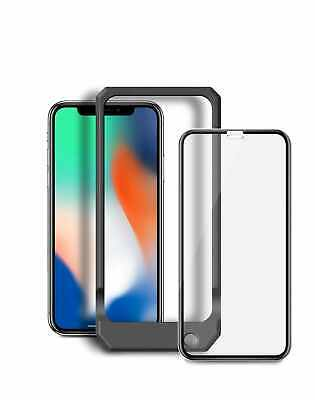 Blu Element 3D Curved Glass Case Friendly Screen Protector Black with