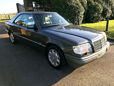1996 w124 Mercedes E320 Auto Coupe LOW MILEAGE Sunroof A/c  Leather, Choice of 5
