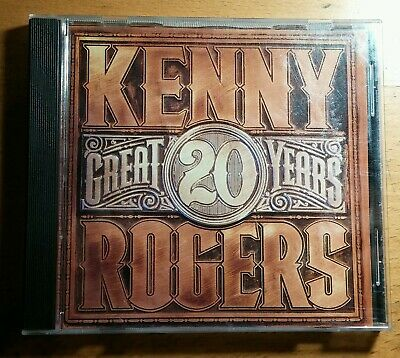Kenny Rogers - 20 Great Years - CD - 1990 Reprise - VG+ (W2 26711)