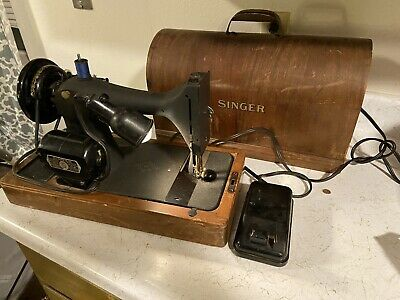 Vintage Singer 1952 Sewing Machine BZ9-8 READ *FAST SHIPPING*