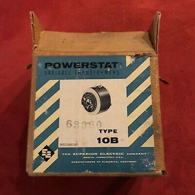 Superior Electric Company Type 10B Powerstat Variable Transformer