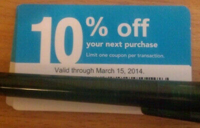 $ave 20x LOWES Coupons 10% OFF @ Competitors ONLY-Home Depot Exp 12-15 Plz Read