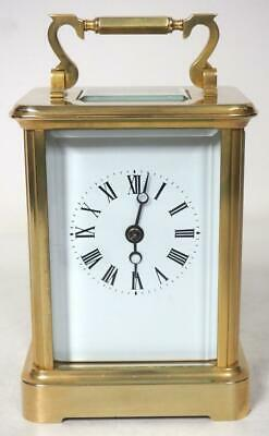 Incredible Charles Frodsham Bell Striking Carriage Clock Very Heavy Mantel Clock