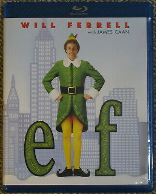 Elf Blu Ray DVD Disc 2008 Essential Christmas Holiday Collection Will Ferrell