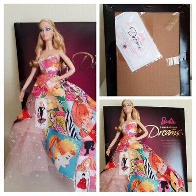 """Barbie """"Generation Of Dreams"""" Collector Doll With Original Packaging."""