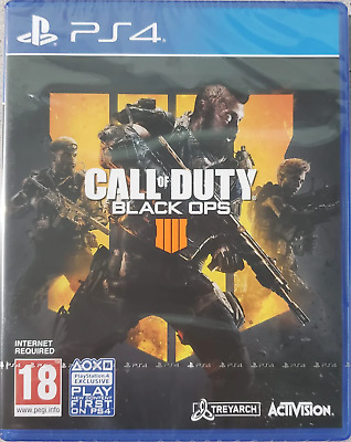 Call of Duty: Black Ops 4 PS4 (Sony PlayStation 4, 2018) Brand New - Region Free