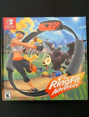 Ring Fit Adventure Game Included -- Standard Edition (Nintendo Switch, 2019)