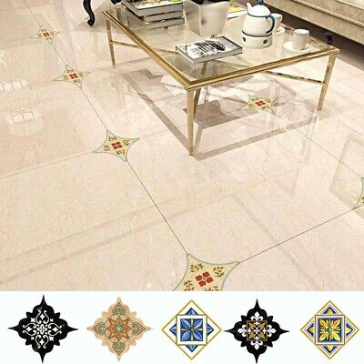 Waterproof Home Kitchen Retro Decal Art Mural Tiles Stickers Wall Stickers