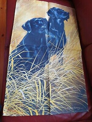 Ulster Weavers Irish Linen Tea Towel Labrador Dog Design