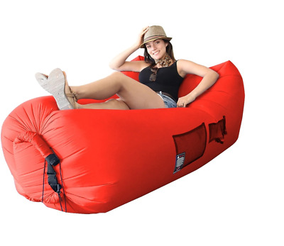 New Red Woo Hoo Chair ~ Giant Inflatable Chair!
