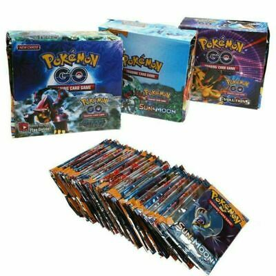 New 324pcs Cards Pokemon TCG Booster English Edition Break Point 36Packs
