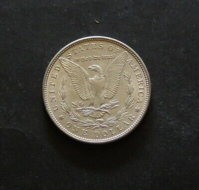 1889 Morgan Dollar Very Nice Condition Silver Coin.Free Registered Post.