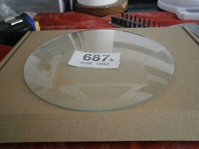 Clock CONVEX GLASS 156mm mantle wall bracket grandmother spares parts 687A