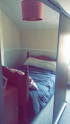 IKEA Pax wardrobe, Single sliding mirror doors, drawers