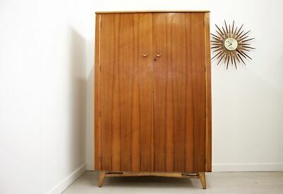 DELIVERY £70 Mid Century Walnut Wardrobe
