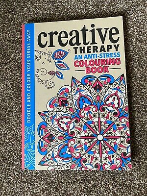 Creative Therapy An Anti Stress Colouring Book By Zoe Bradley & Jack Clucas