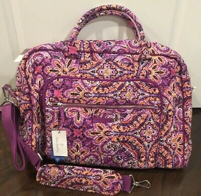 NEW Vera Bradley DREAM TAPESTRY Iconic Weekender Travel Bag - Luggage Carry On