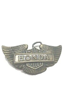 Honda Motorcycles Belt Buckle Vintage
