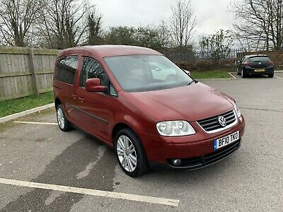 Volkswagen Caddy Life 2010 1.9 Tdi Auto Ican Disability Disabled Only 41K Miles