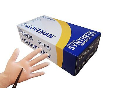 gloveman disposable glove soft touch synthetic powder free G 151 medical grade
