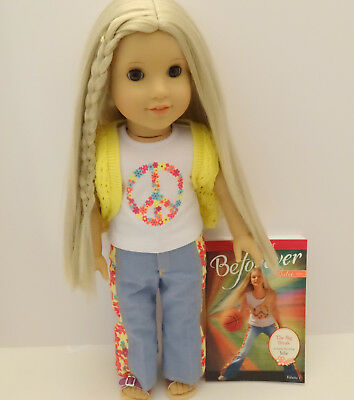 American Girl Julie Beforever Doll & Book - New In Box - Global Shipping