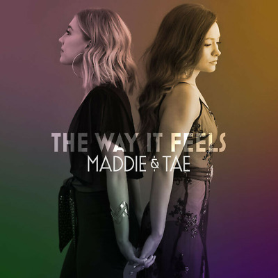 MADDIE & TAE THE WAY IT FEELS NEW CD - Released 10/04/2020