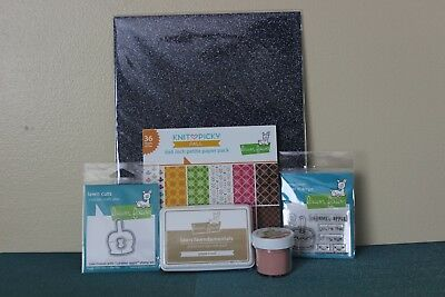 """~LF1749 Lawn Fawn 8 1//2 x 11/"""" SPARKLE Cardstock Sheets ~ HOLIDAY ~ 5ct"""