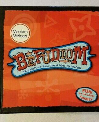 EUC Merriam-Webster Befudiom The Wacky Phrase-Tastic Game of Mixed-Up Meanings!