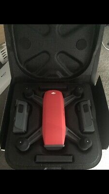 DJI Spark Fly More Combo Drone - Lava Red