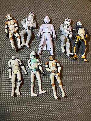 Star Wars TCW Clone Wars Assault on Ryloth Clone Commander Cody Loose Complete